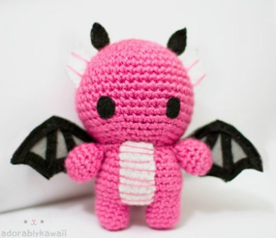 Kawaii Baby Dragon Crochet Pattern, Best Amigurumi Patterns for Crochet