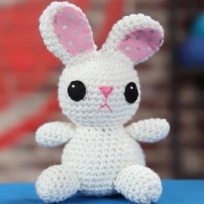 Amigurumi Bunny, Beginner Amigurumi Patterns