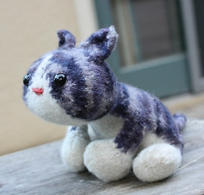 Knit Maru Kitty Pattern, Amigurumi Kitten Pattern