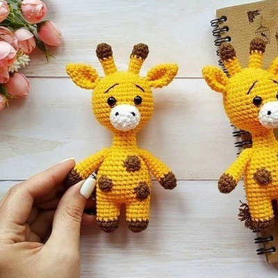 Sweet Giraffe Amigurumi Pattern, Beginner Amigurumi Patterns