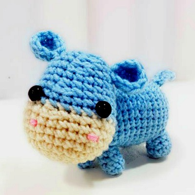 Ella the Hippo Amigurumi Pattern, Best Amigurumi Patterns