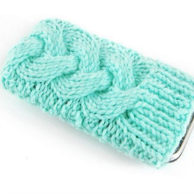 knitted cable iphone case