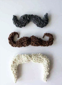 Free Pattern for Crochet Mustaches