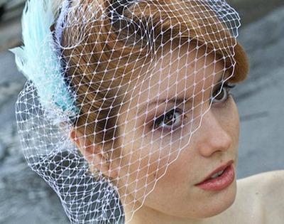 Pastel Blue Veil