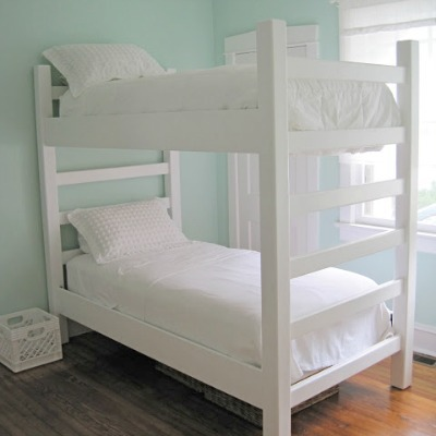 diy bunk bed building tutorial