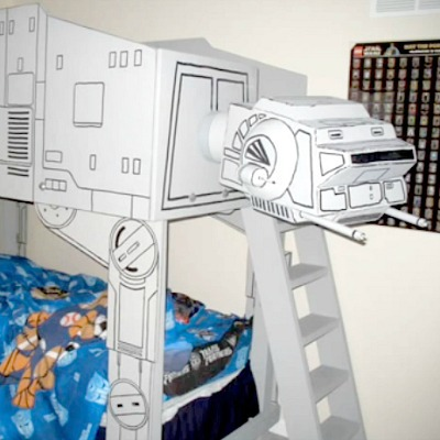 star wars themed bunk bed tutorial