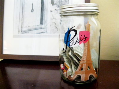 dream destination change jar