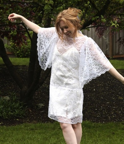 lace shell dress pattern