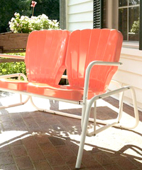 vintage inspired patio furniture