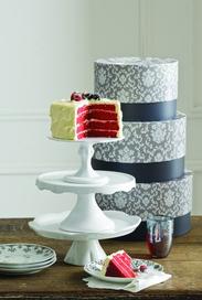 vintage inspired cake pedestal