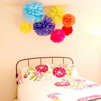 Cinco de Mayo tissue paper flowers