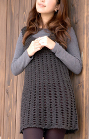 crochet tunic dress pattern
