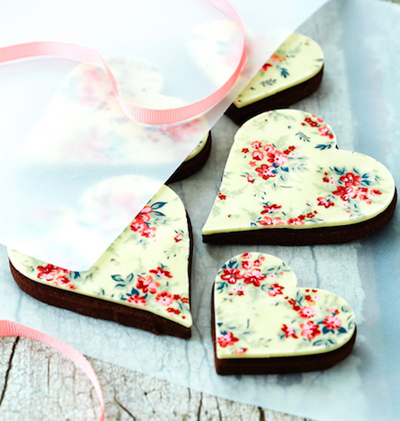 Chocolate Heart Cookies