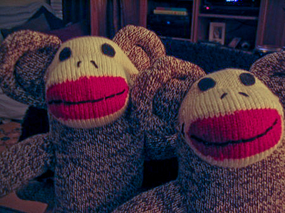 Traditional Sock Monkey