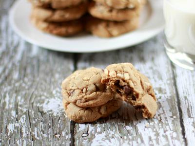 Rice Krispies chocolate chip cookies