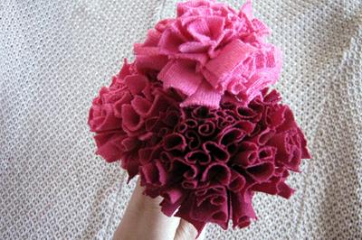 T-shirt carnations