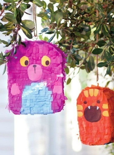 cereal box pinata craft