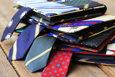 necktie photo albums
