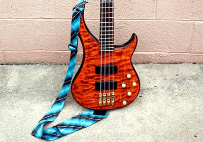 necktie guitar strap
