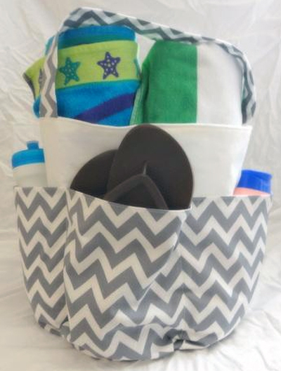 Summer Beach Tote Pattern