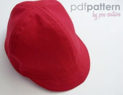 Make your own red baseball cap