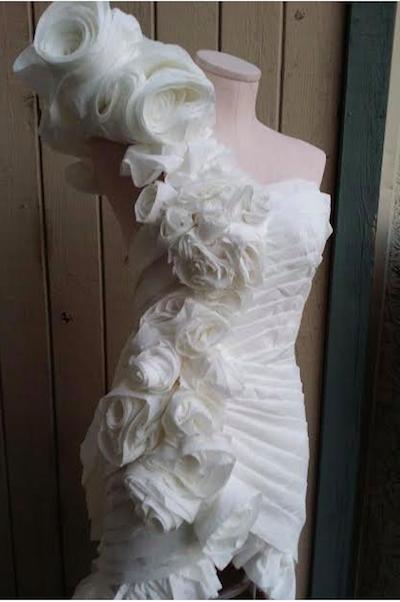 Winning Toilet Paper Wedding Dresses Craftfoxes