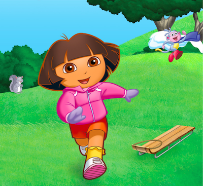 Dora Explorer board game