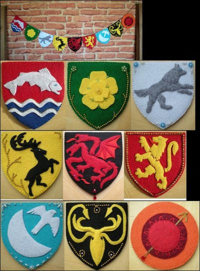 Felt Game of Thrones Banner