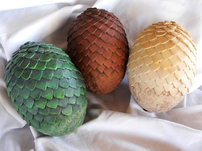 Resin Dragon Eggs and Silicone Mold Tutorial