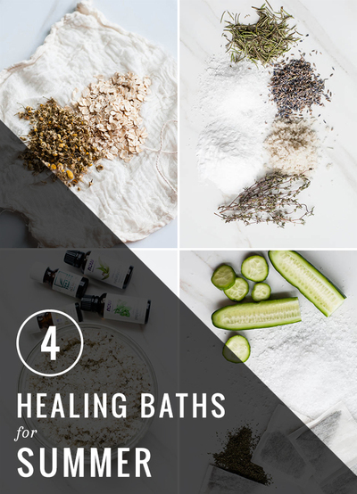 Healing bath recipes