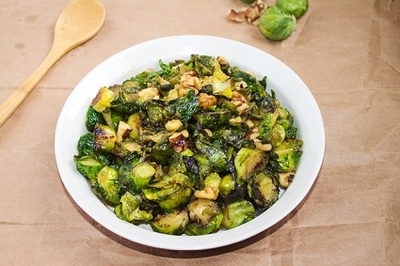 Brussel Sprouts with Maple Syrup