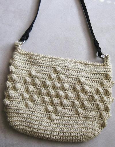 Popcorn Stitch Crochet Purse Pattern
