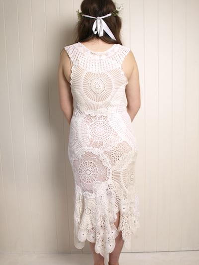 vintage doily dress