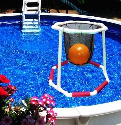 Floating pool Basketball Hoop