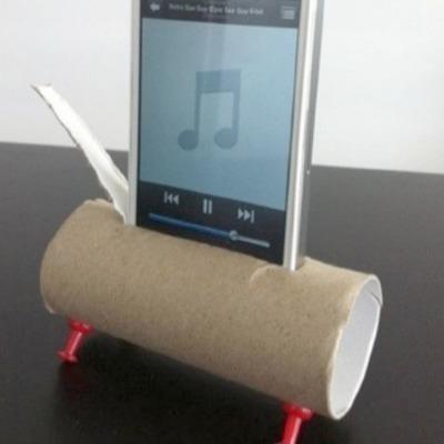 Toilet Paper Roll Speaker