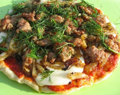 Campfire Pizza Recipe