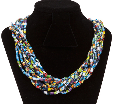 fiber tape twisted large necklace collections all products duct studio img