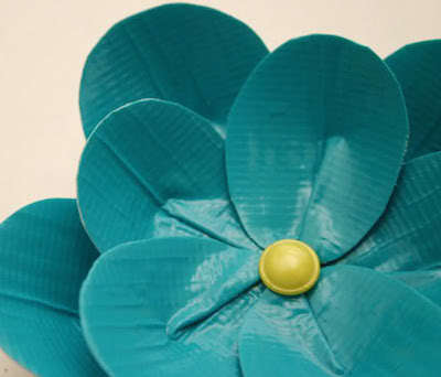 duct tape flower, duct tape projects, duct tape crafts