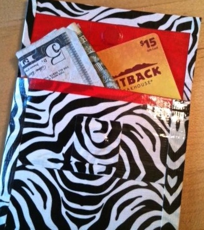 duct tape coin purse, duct tape wallet, duct tape crafts