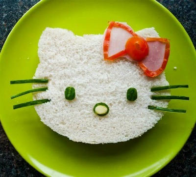 back to school, lunch ideas, lunch for kids, lunch for teens, hello kitty sandwich cutter