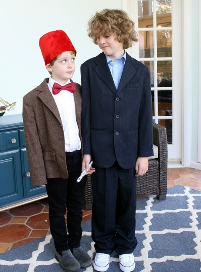 Halloween costumes for kids, Dr. Who costume, DIY Dr. Who costume, Dr. Who
