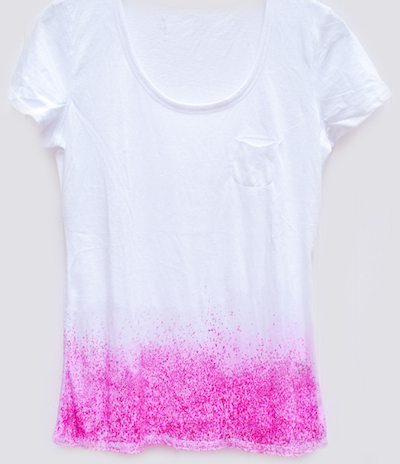 dip dye tee shirt