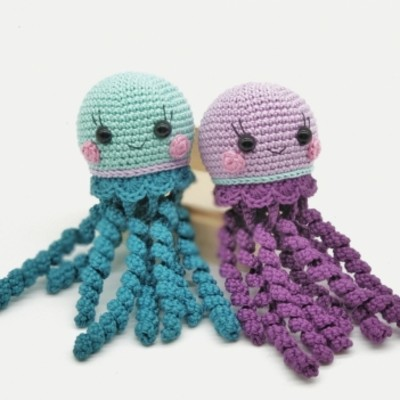 Jelly Fish Amigurumi Pattern