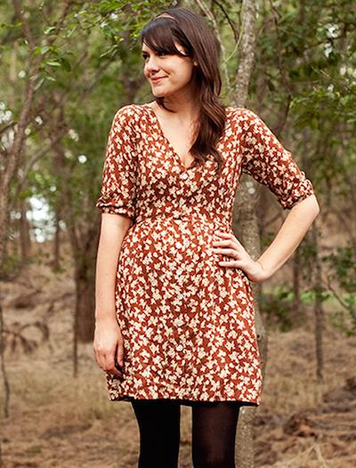 brown shirt dress pattern
