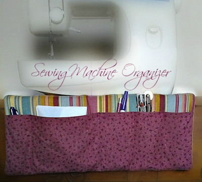 fabric pocket organizer sewing pattern