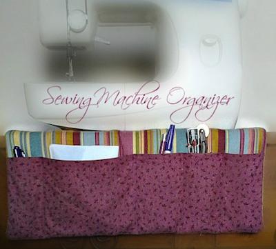 fabric pocket organizer sewing pattern