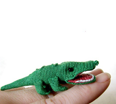 Alligator Amigurumi Pattern