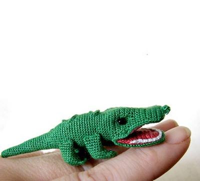 Alligator Amigurumi Pattern