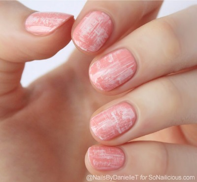 tweed nail art, diy nail art, nail tutorial