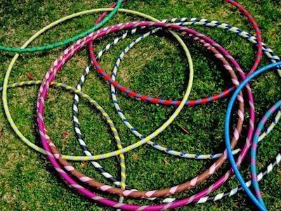 DIY hula hoop